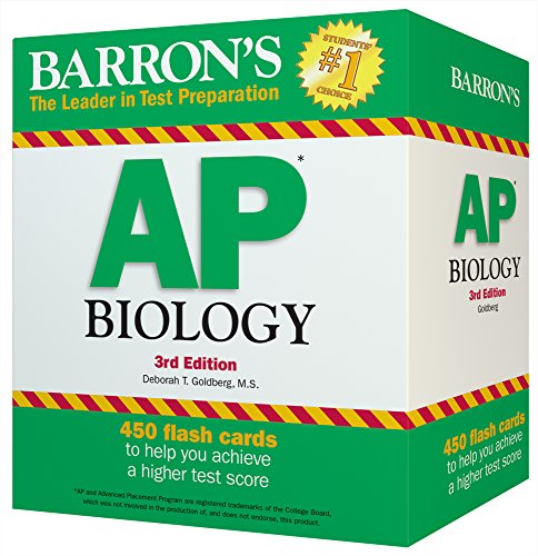 Barron's AP Biology Flash Cards, 3rd Edition cover