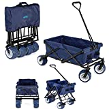 Yello Folding Camping Wagon Portable Collapsible Festival Trolley Cart