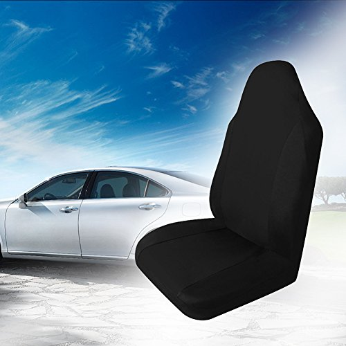 Globeagle Universal Car Front Rear Seat Covers Cushion Pad For Crossovers Suv Black