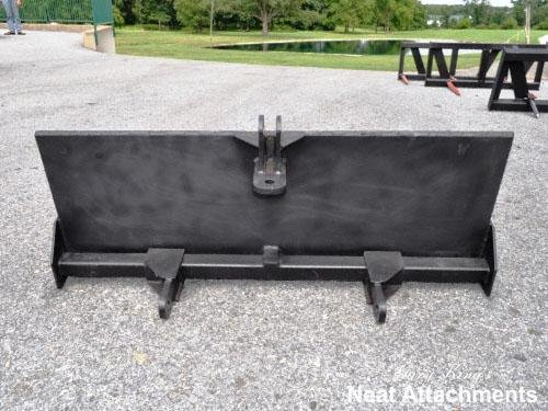 Skid Steer to 3 Point Attachment Adapter