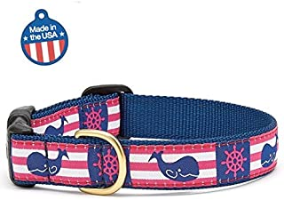product image for Up Country Whale Stripe Dog Collar