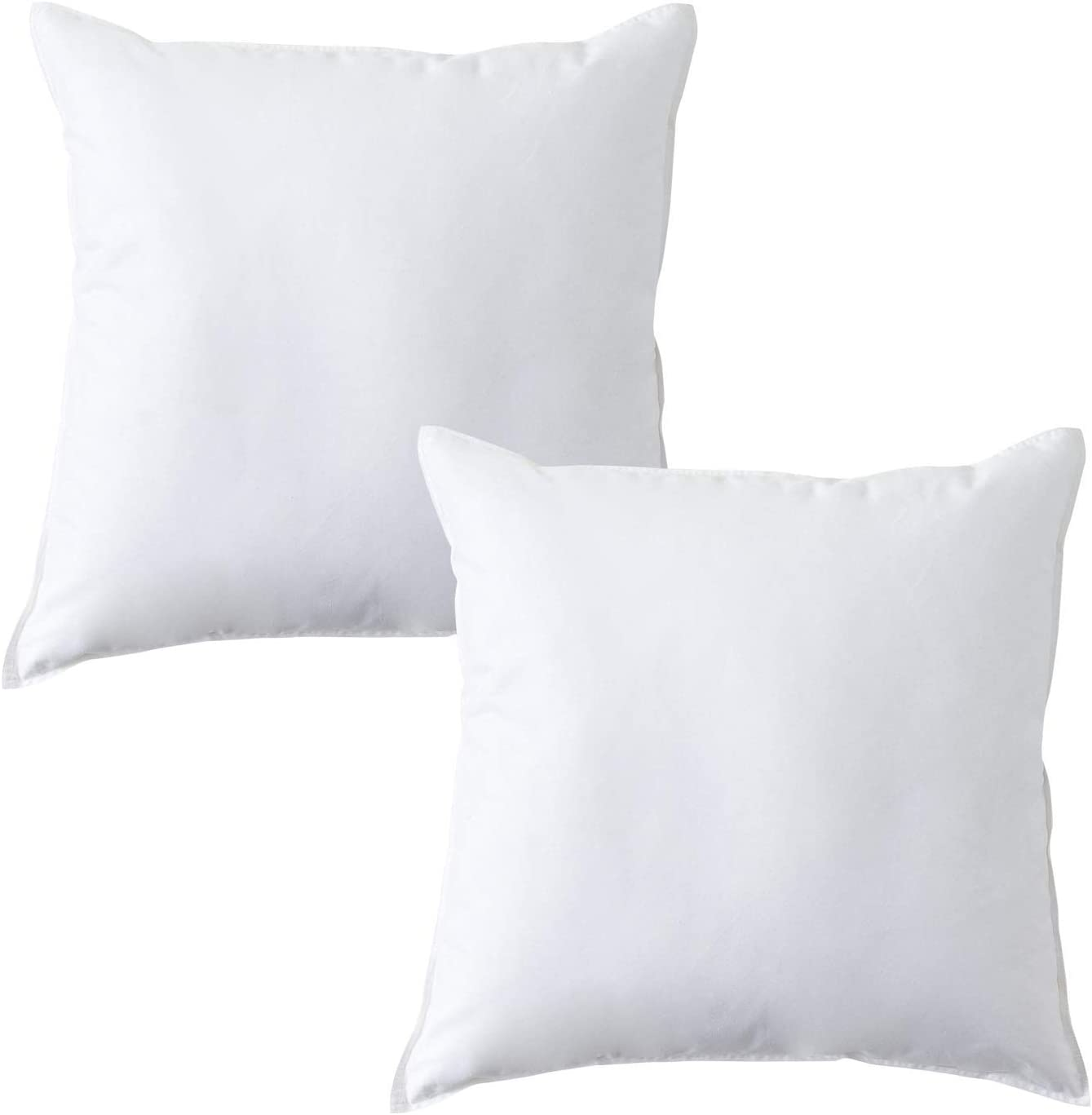 """3 x 24/"""" x 24/"""" Duck Feather Cushion Inner Pad Insert Scatter 60x60cm"""
