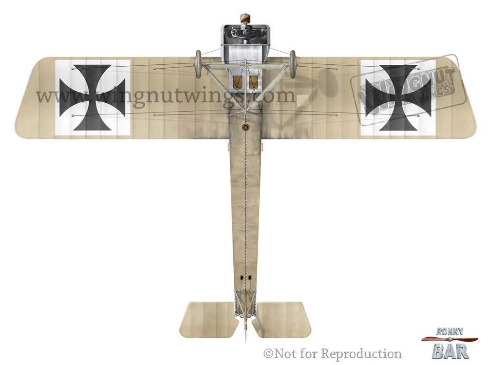 multicolore Modellino di Fokker E.II Max Immelmann Wingnut Wings WNW32603 scala 1:32