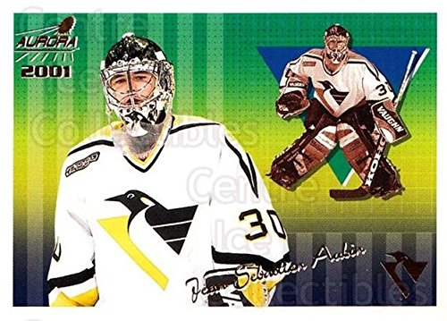 (CI) Jean-Sebastien Aubin Hockey Card 2000-01 Aurora Pinstripes (base) 114 Jean-Sebastien Aubin