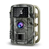 Gosira Trail Camera Motion Activated 12MP HD 1080P Wildlife Hunting 0.5s Trigger 940nm Updated IR LED No Flash Night Vision 15M IP66 Waterproof Game Cam Wide Senor 90° Detection Outdoor Nature Home