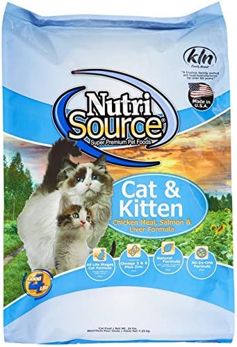 Tuffy S Pet Food Nutrisource Salmon And Liver Formula Dry Cat Food