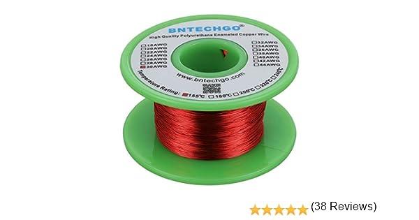 BNTECHGO 30 AWG cable magnético – alambre de cobre esmaltado ...