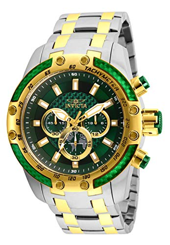 Man Of Steel Outfit (Invicta Men's Speedway Quartz Watch with Stainless Steel Strap, Two Tone, 26 (Model:)