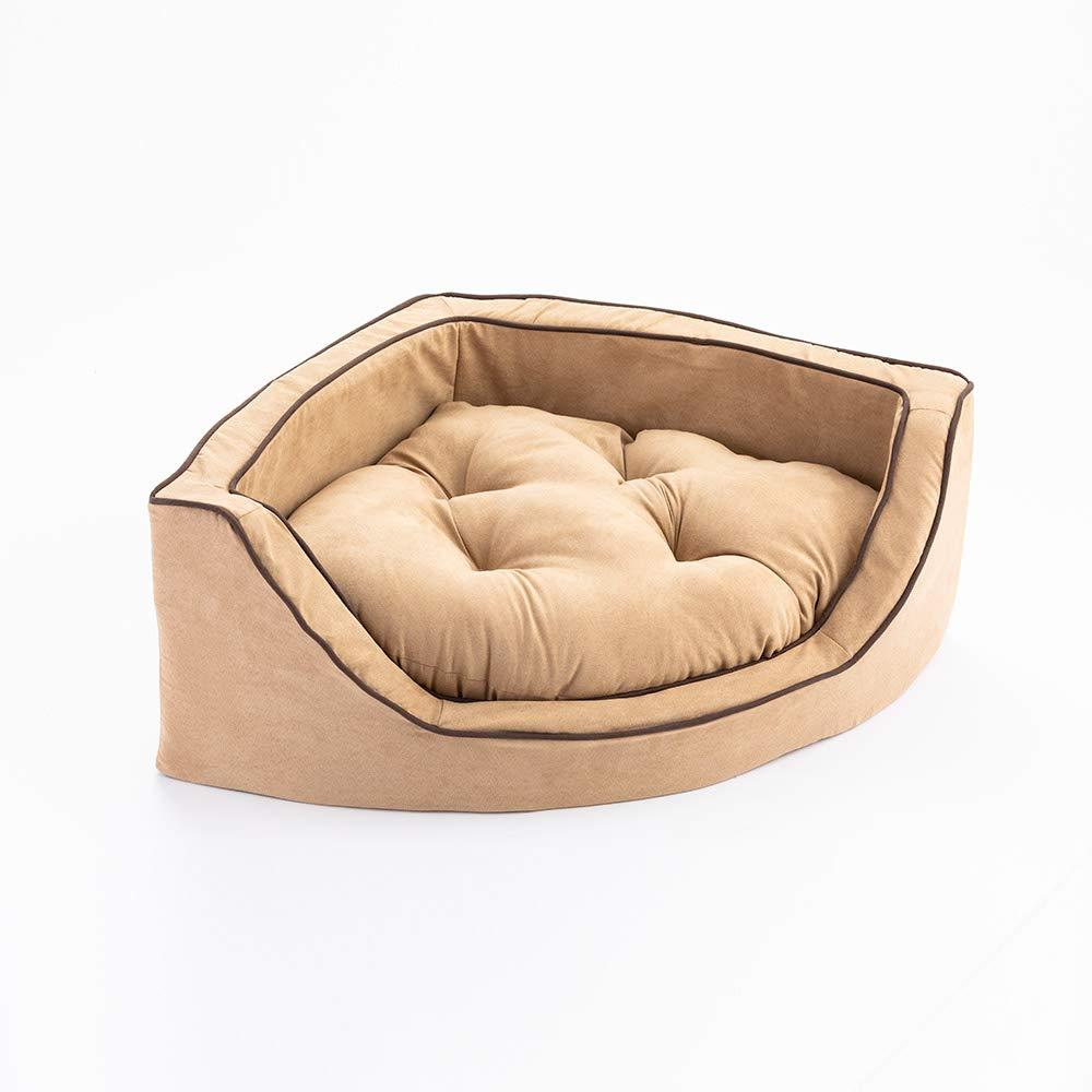 Amazon.com: Snoozer Lujo esquina de espuma cara mascota cama ...