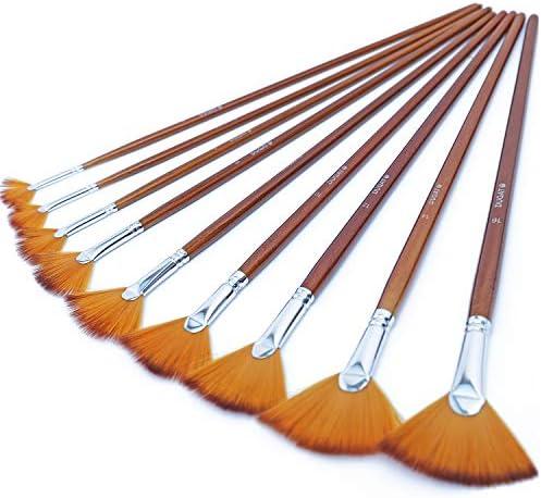 Artist Paint Brushes 9pcs Anti Shedding product image