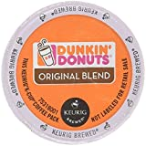 keurig k cups duncan donuts - Dunkin Donuts Original Flavor Coffee K-Cups For Keurig K Cup Brewers (72 Count)
