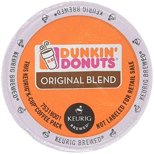 Dunkin Donuts Original Flavor Coffee K-Cups For Keurig K Cup Brewers (144 Count) by Dunkin' Donuts