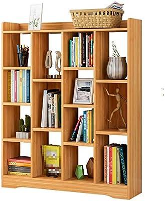 Liuxiaomiao Estantería de Escalera Librería de 15 estantes Organizador de Libros artísticos BookRack CD de Ahorro de Espacio Álbum de Libros para Muebles de salón Comedor o Sala de Estar: Amazon.es: Hogar