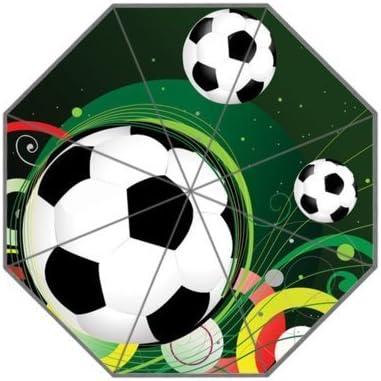 Fútbol balón de fútbol paraguas de viaje compacto paraguas ...