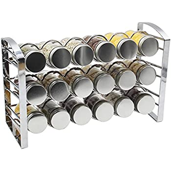 Amazon Com Decobros Spice Rack Stand Holder With 18