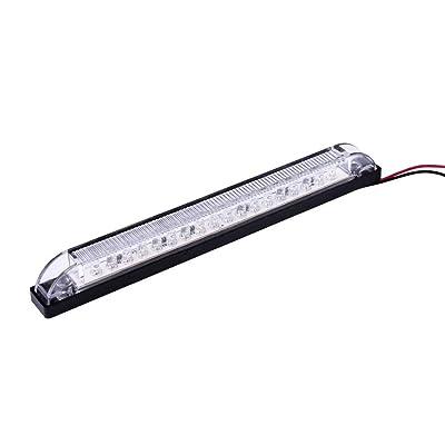 "LED Bar Light - Heavy duty, Water resistant 12 Volt DC LED courtesy convenience lamp, 6"" length: Home Improvement"