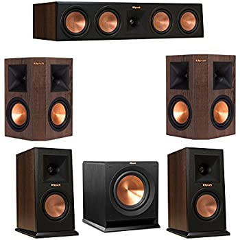 Amazon com: Klipsch 5 1 RP-160M Reference Premiere Speaker Package