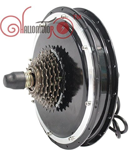 24V 36V 48V 500W Electric Motor For Bikes Brushless Gearless Hub Motor Most Powerful Kits Rear Wheel Motor Thread-in Type
