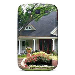Shock-dirt Proof American Style House Case Cover For Galaxy S3