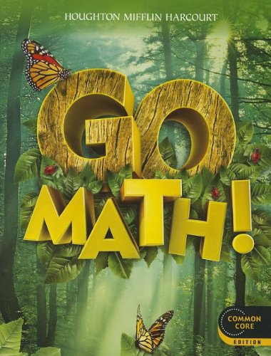 Go Math!: Student Edition Grade 1 2012