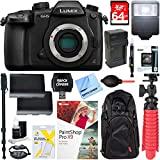 Panasonic LUMIX GH5 20.3MP Digital Camera (Body Only) with Dual Battery + Accessory Bundle (Starter Bundle)