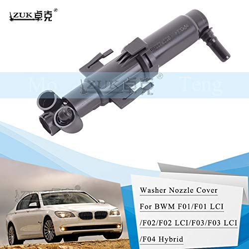 (Wipers Hukcus Headlamp Headlight Spray Nozzle Washer Actuator For BMW 7 Series 730 740 750 760 For F01 F02 LCI For ALPINA B7 B7X B7LX - (Color: Left and Right))