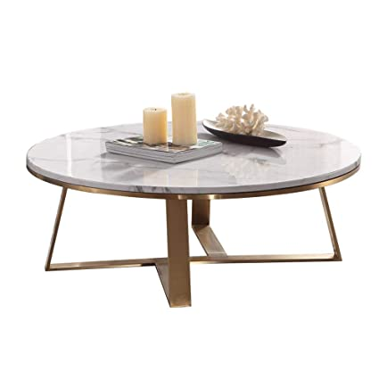 Yike Coffee Table Modern Minimalist Marble Coffee Table With