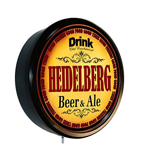HEIDELBERG Beer and Ale Cerveza Lighted Wall Sign