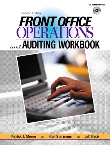 Front Office Operations and Auditing Workbook (2nd Edition)