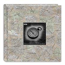 Pioneer Photo Albums DA-200MAP/CM 200-Pocket Photo Album with Printed Travel Design Cover, City Maps