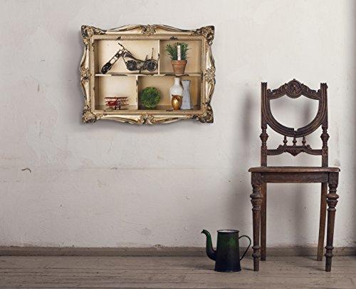 AdirHome Ornamental Wood Wall Shelf with 4 Sections by AdirHome (Image #4)