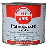 750ml Rotweiss Polierpaste Politur KFZ Profi 1000