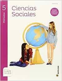 CIENCIAS SOCIALES + ATLAS RIOJA 5 PRIMARIA SANTILLANA