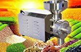 JIAWANSHUN 2.2KW 1420r/min stainless steel Food Processing Machinery Multi Function Grain Grind Mill Grinding machine (110V)