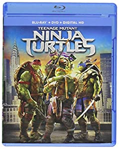Cover Image for 'Teenage Mutant Ninja Turtles (Blu-ray + DVD + Digital HD)'