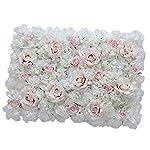 Flameer-40X60cm-Artificial-Silk-Plastic-Rose-Flower-Panel-Wall-Decoration-Decorative-Grass-Turf-Wedding-Venue-Backdrop-Decor