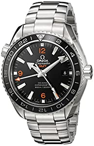 Omega Men's 'Planet Ocean' Swiss Stainless Steel Automatic Watch, Color:Silver-Toned (Model: 23230442201002)