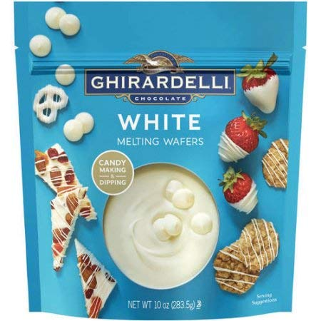 Ghirardelli White Melting Wafers Chocolate (Pack of 36) by Generic (Image #1)