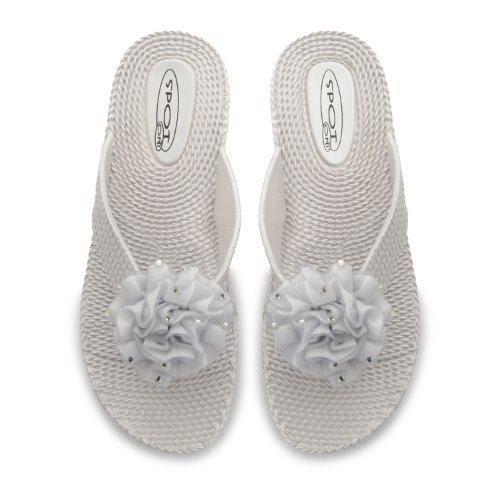Footwear Sensation - Sandalias para mujer negro negro negro - plata