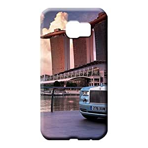 samsung galaxy s6 edge Excellent Fitted Fashion series mobile phone carrying skins Aston martin Luxury car logo super