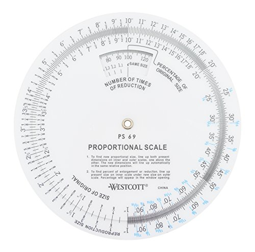 "Westcott 5"" Proportional Scale (PS-69)"