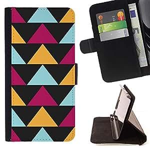 For Sony Xperia Style T3 Case , Negro Modelo púrpura amarillo- la tarjeta de Crédito Slots PU Funda de cuero Monedero caso cubierta de piel