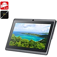 7 Inch Android 4.4 Tablet Eta - Quad Core A33 CPU, Mali-400 GPU, 8GB Internal Memory, OTG (Black)