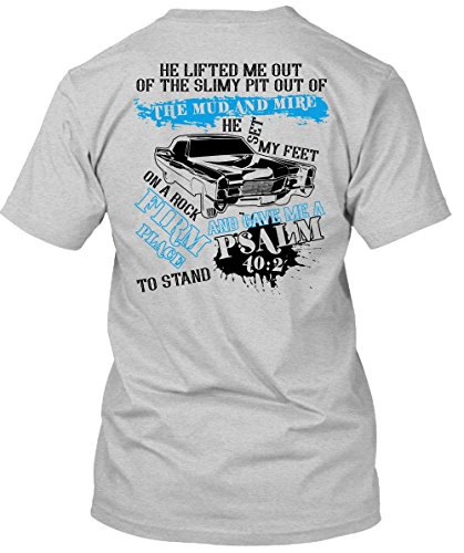 The Simple Pit Out of The Mud and Mire T Shirt, I Love My Car T Shirt Unisex (XXL,Sport Grey)