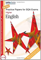 Practice Papers for SQA Exams - More Higher English Practice Papers for SQA Exams: Second Volume: 2