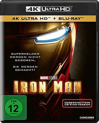 Iron Man [4K Ultra HD] [Blu-ray]