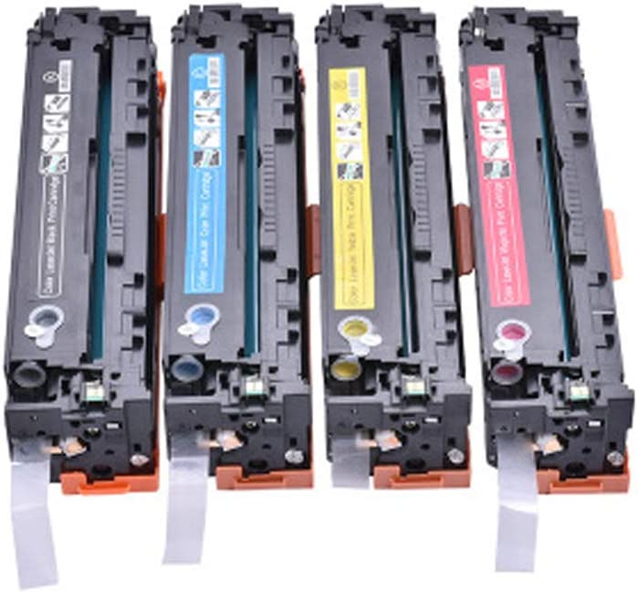 for HP CF210A 131A M251N M251NW MFP M276N M276NW Compatible Toner Cartridges Replacement for HP Laser Printer with Chips-Combination