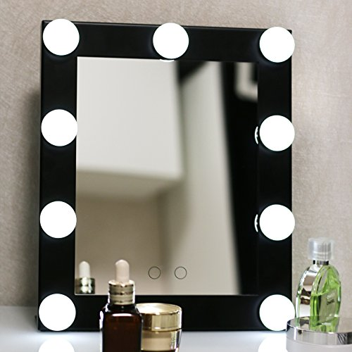 yvettevans hollywood makeup vanity mirror with light tabletops lighted mirror. Black Bedroom Furniture Sets. Home Design Ideas