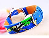 blue Ben 10 Watch children kids cartoon Watches Band WP@MYA167076U