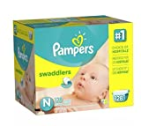 Pampers Swaddlers Diapers Size Newborn 128.0ea (pack of 2)